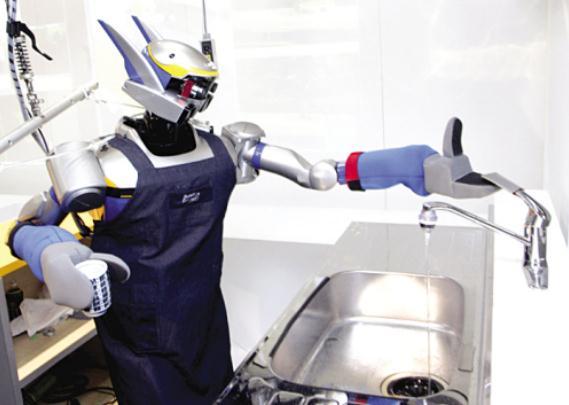 机器人做家务 图片合集