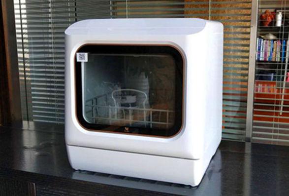 布谷(BUGU)台式洗碗机 免安装双层碗篮 19分钟超快洗