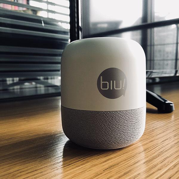 苏宁小Biu音箱 AI生活助手 人工智
