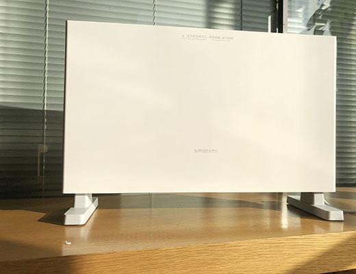 智米小米智能电暖器家用浴室取暖器小型轻薄迷你电暖气片静音立式速热暖风机