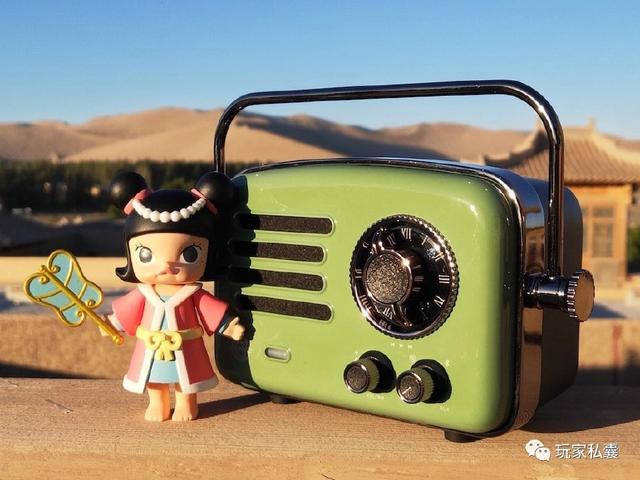 """可爱的萌猫王""""小王子""""收音机"""