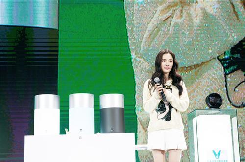 杨幂发布同名款净水机云米Mee  成全球首款全屋智能净水系统首个用户