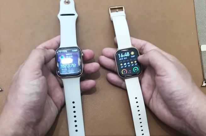 """""""中美版Apple Watch""""同框硬刚,华米、苹果体验上有啥差别?"""
